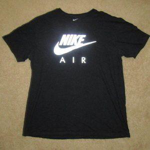 Nike Air Black Reflective Silver Shirt XL Men ball